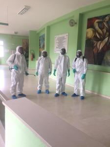 squadra disinfezioni